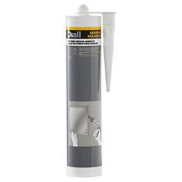 Diall White Mirror adhesive