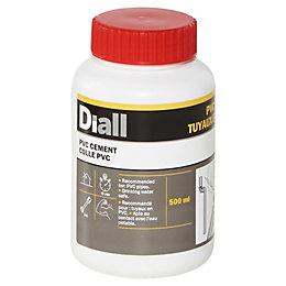 Diall PVC glue PVC glue, Set
