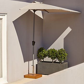 Pali Balcony Parasol and base