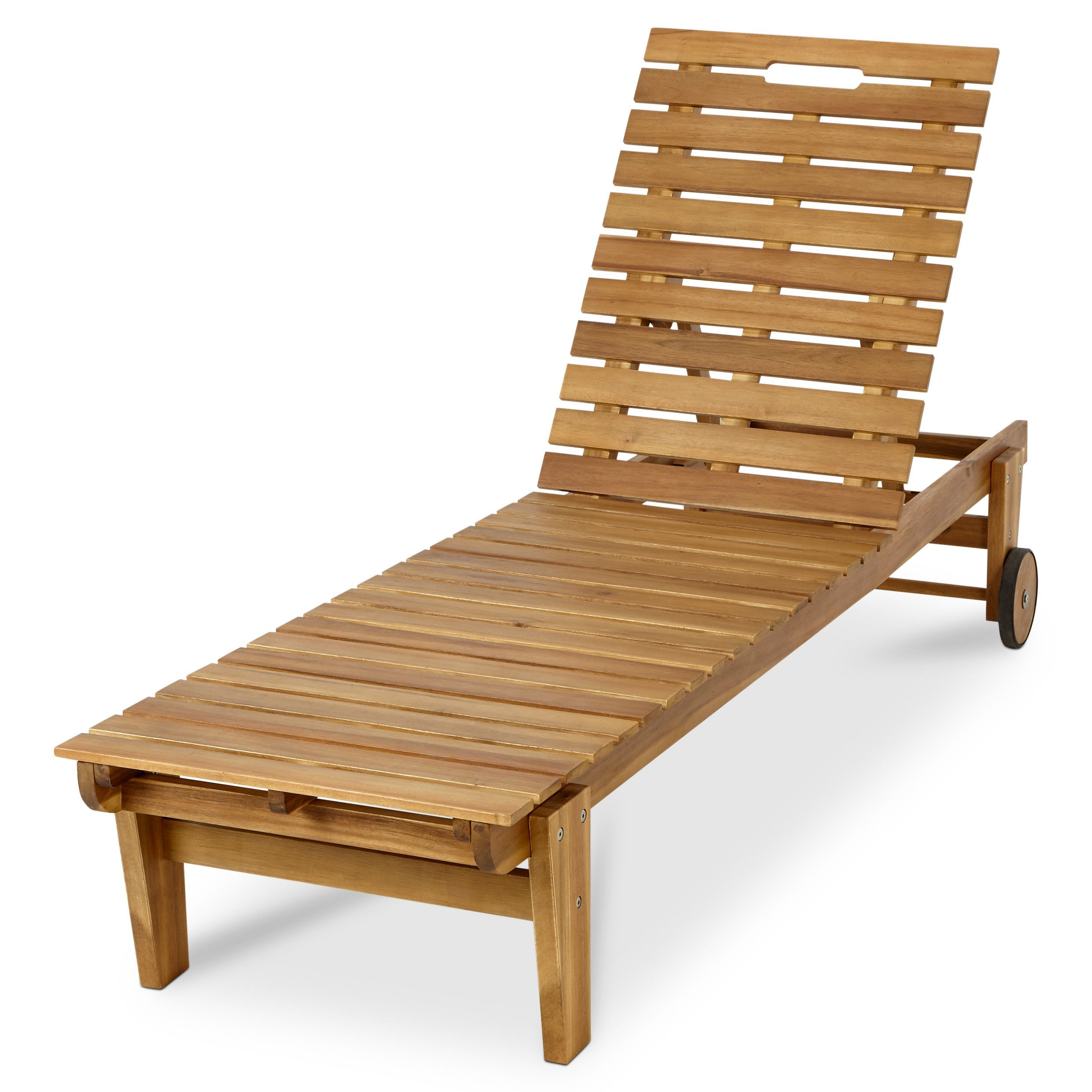 denia wooden sun lounger departments diy at b q. Black Bedroom Furniture Sets. Home Design Ideas