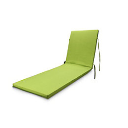 Cocos Laitue Green Plain Sunlounger Cushion
