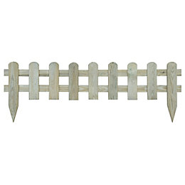 Blooma Tsugaru Round top Picket fence (W)1.1 m