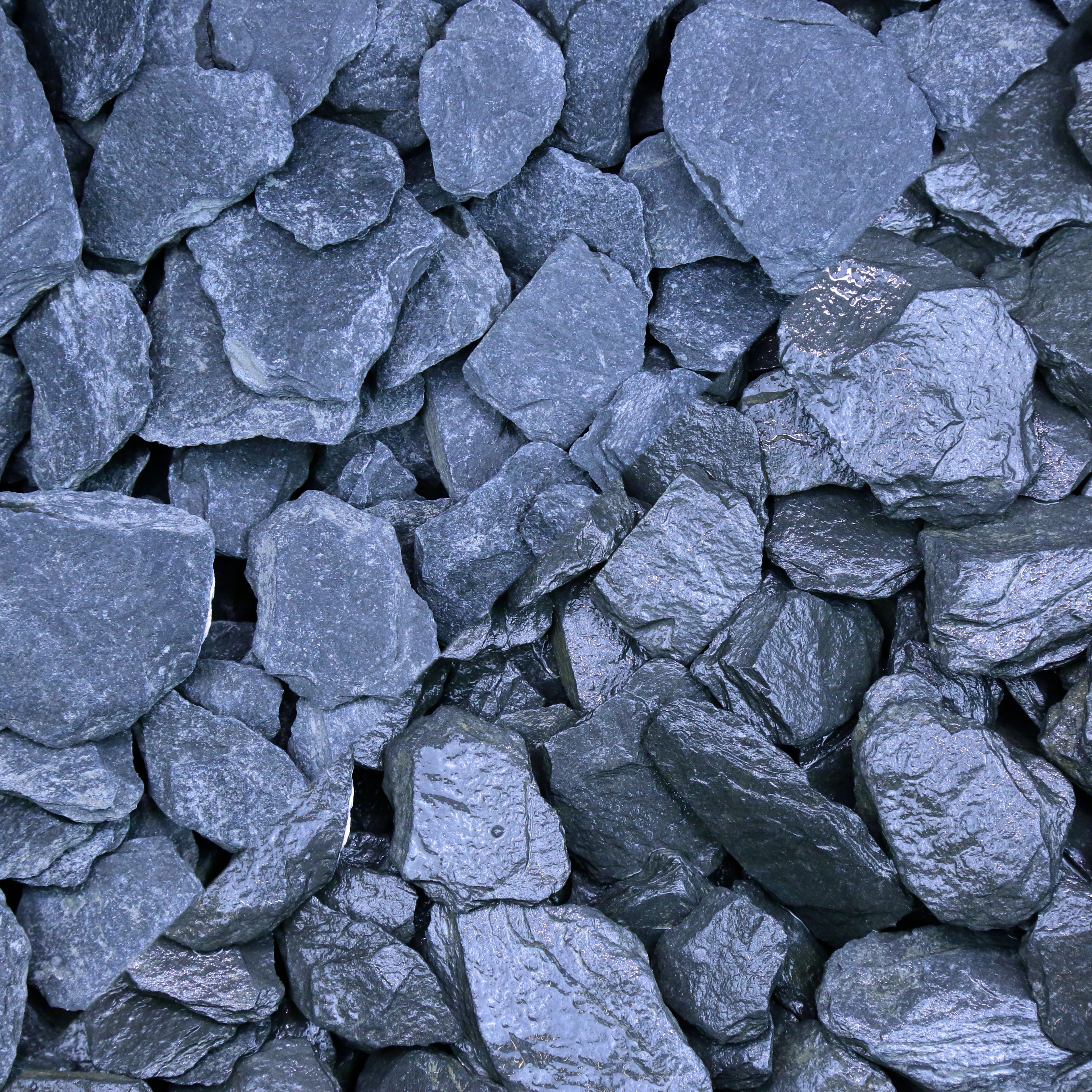 Blooma Blue Decorative slate chips 22500g | Departments | DIY at B&Q