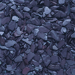 Blue Decorative slate chippings 790000g
