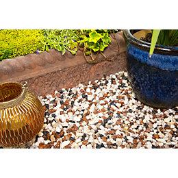 Blooma Multicolour Alpine mix Decorative stone 790000g