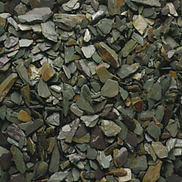 Blooma Green Decorative slate chippings 790000g