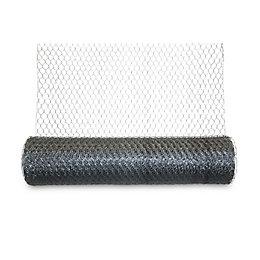 Blooma Galvanised Steel Triple torsion mesh (L)10m