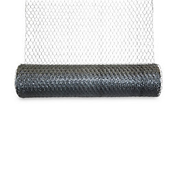 Blooma Galvanised Steel Triple torsion mesh (L)10m