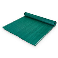 Plastic Green Garden screen (H)1.5m (W)10 m