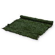 PVC Green Artificial hedge screen (H)1m (W)3 m