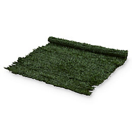 PVC Green Artificial hedge screen (H)1m (W)3 m