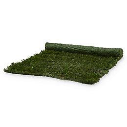 PVC & metal Green Artificial hedge screen (H)1m
