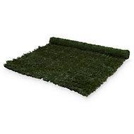 PVC & metal Green Artificial hedge screen (H)1.5m (W)3 m