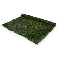 PVC & metal Green Artificial hedge screen (H)1.8m (W)3 m