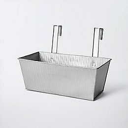 Rural Rectangular Metal Planter (H)230mm (L)340mm