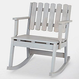 Rural Wooden Single rocking chair