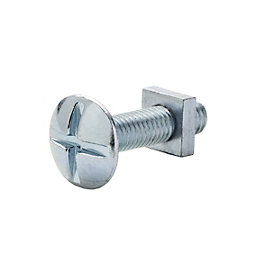 M5 Roofing bolt & square nut (L) 20mm,