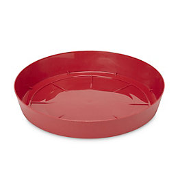 Blooma Red Plastic Saucer (Dia)305mm