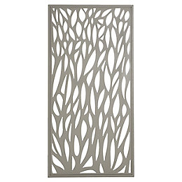 Blooma Aluminium Gate (H)1.7m (W)0.93 m