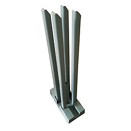 Blooma Neva Metal Wall starting base (W)170mm (D)70mm