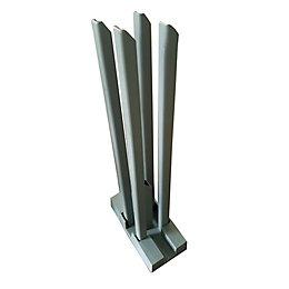 Blooma Neva Metal Wall starting base (W)170mm (D)70mm