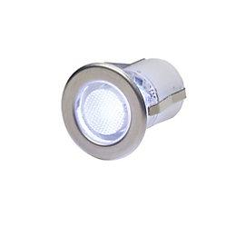Payette Silver effect Floor light