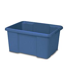 Fitty Blue 26L Plastic Storage box
