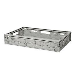 Foldie Heavy duty Light grey 21L Foldable Crate