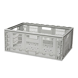 Form Foldie Grey 46L Crate