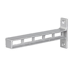 Form Rigga Grey Zinc alloy Shelf connector (D)92.5mm