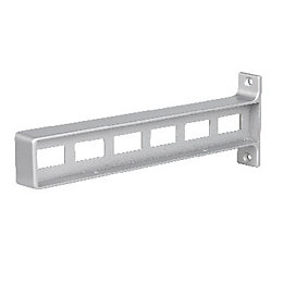 Form Cusko Grey Zinc alloy Shelf connector (D)92mm