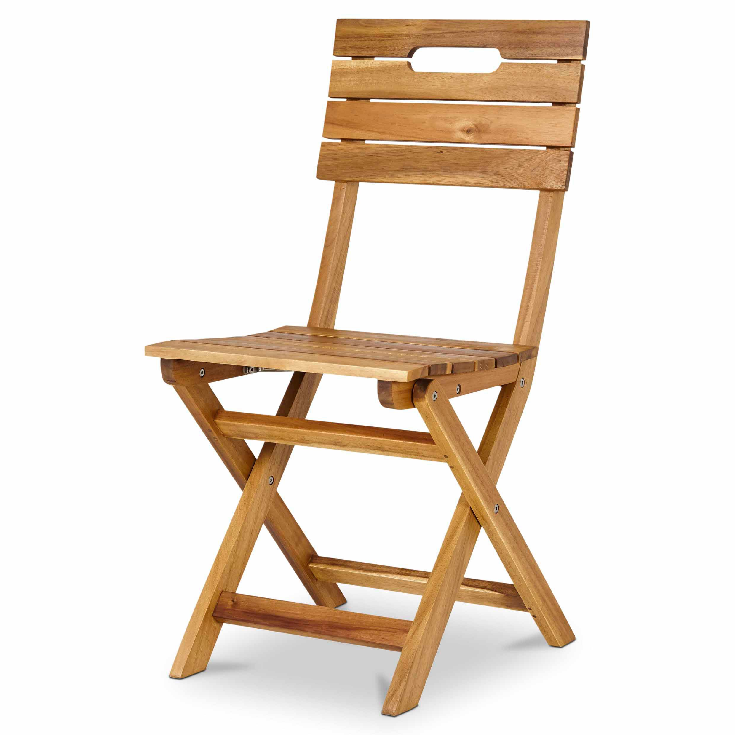 Denia Wooden Folding Chair Twin Pack Departments Diy At B Q