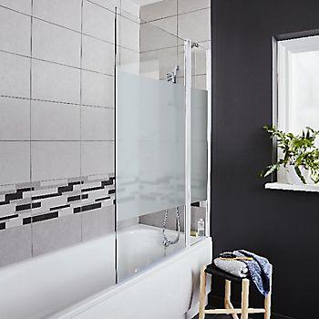 Cooke & Lewis Shaftesbury Acrylic Rectangular Straight Bath