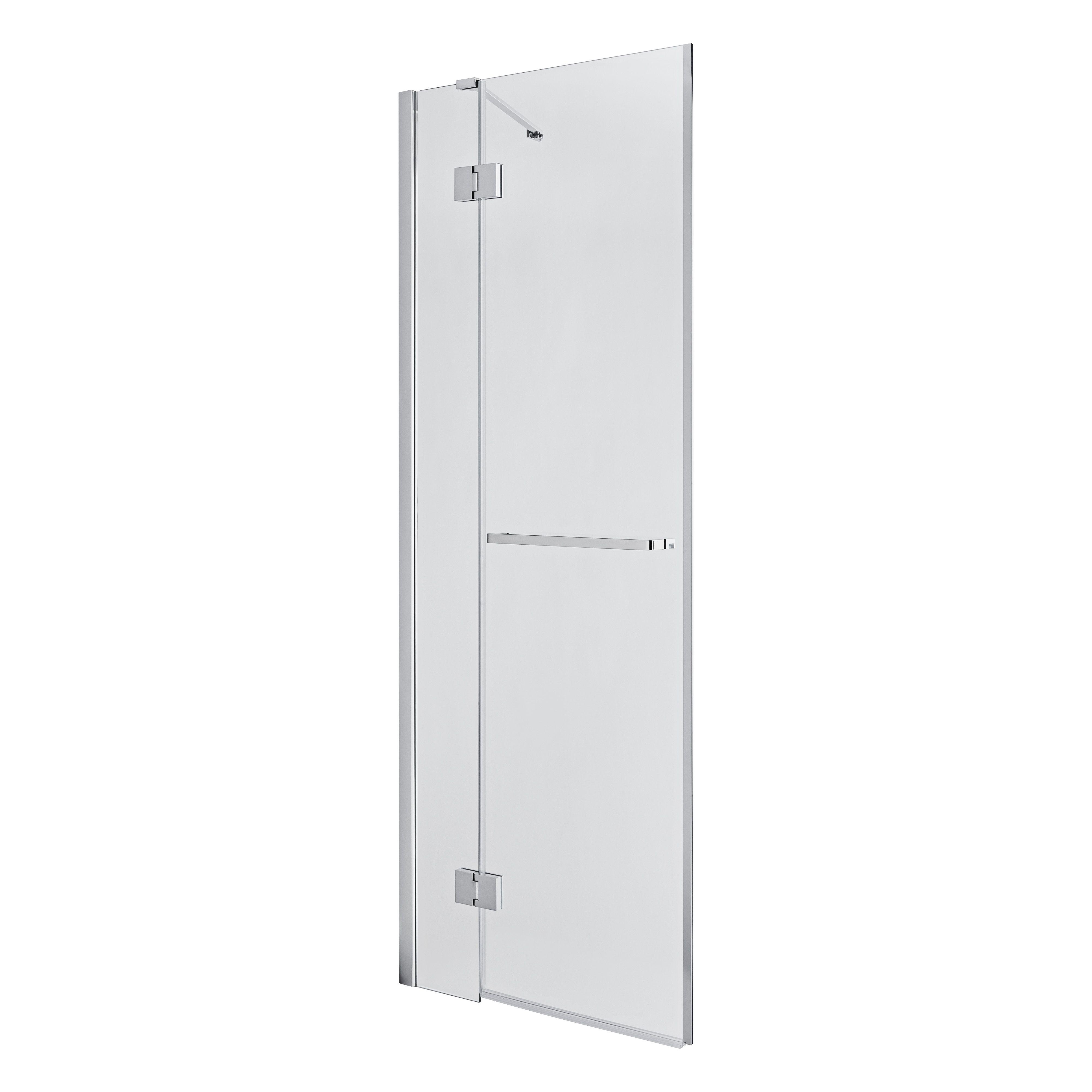 Goodhome Naya Pivot Shower Door W 760mm Departments Diy At B Q