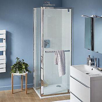 Cooke & Lewis Zilia Pivot Shower Door