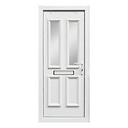 4 panel PVCu Glazed External Front door &