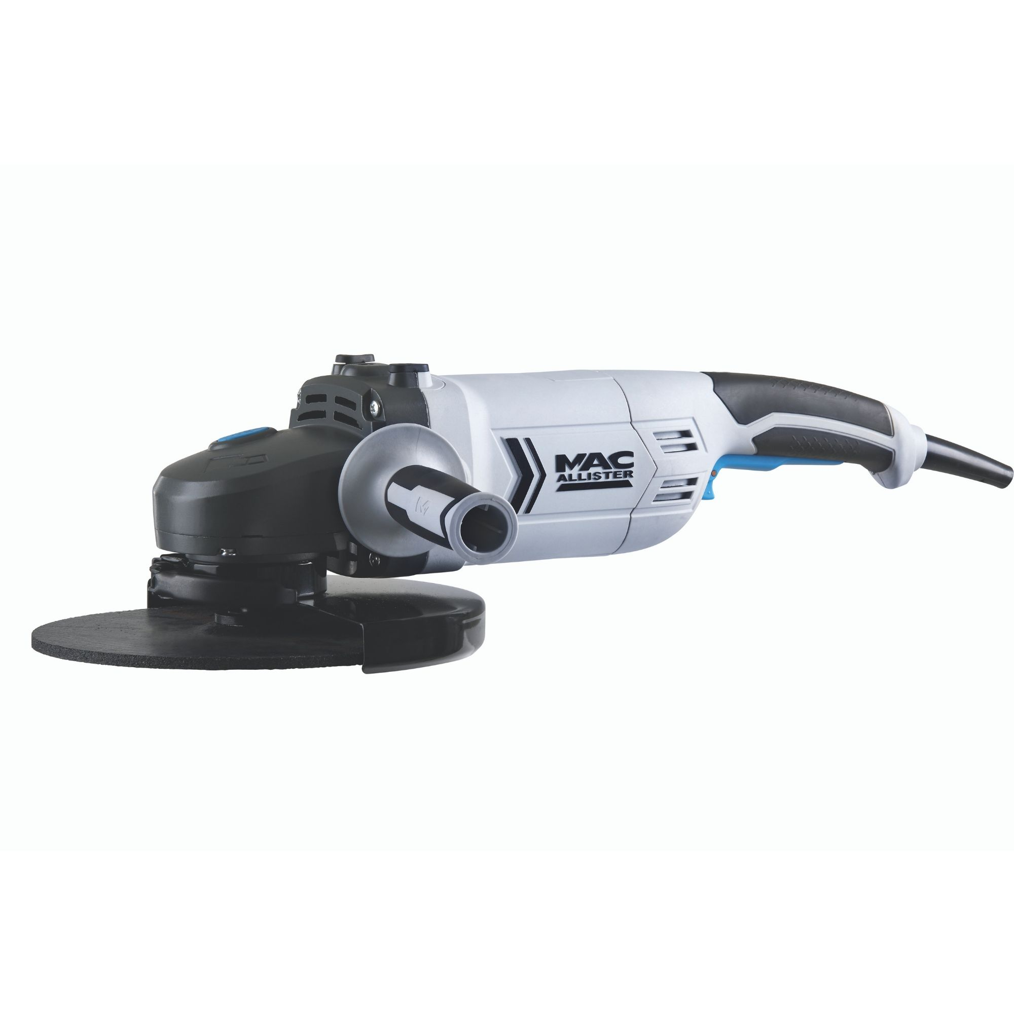Mac Allister 2000W 220-240V 230mm Angle grinder MSAG2000 | Departments |  DIY at B&Q