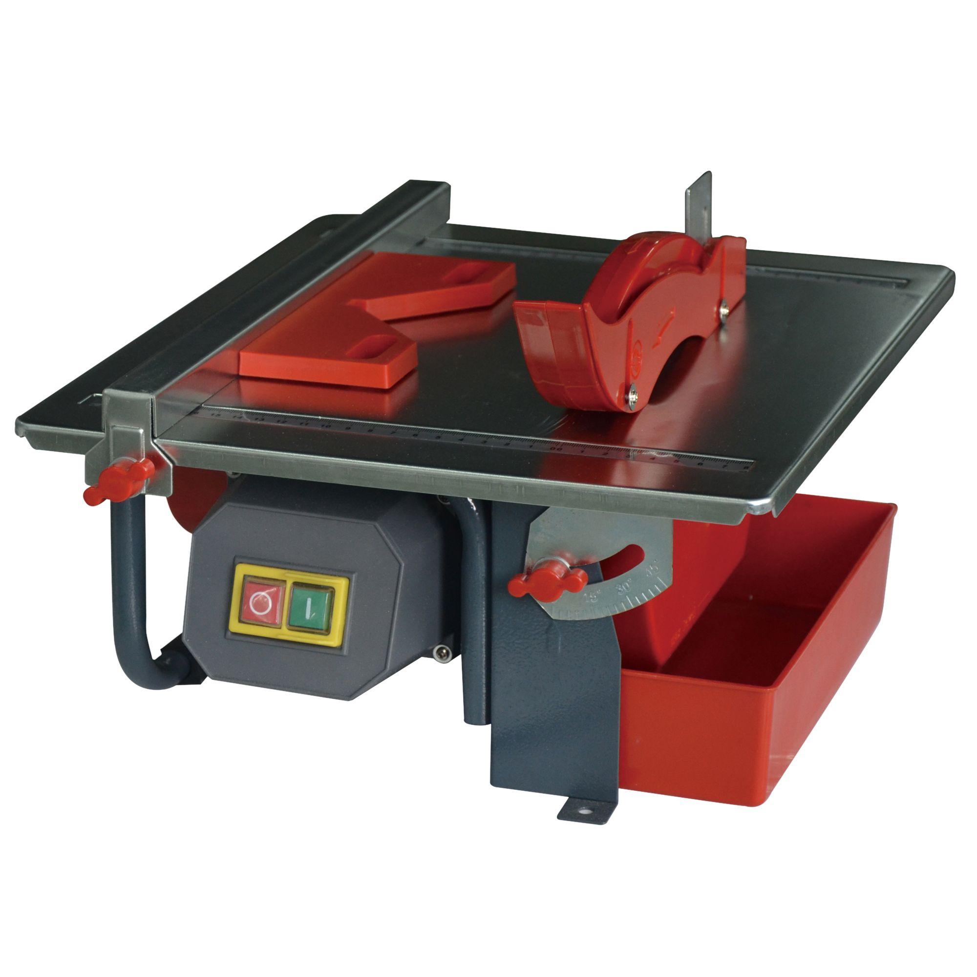 B Q Tile Cutter: Performance Power Corded 180mm 450W 230-240V Tile Cutter