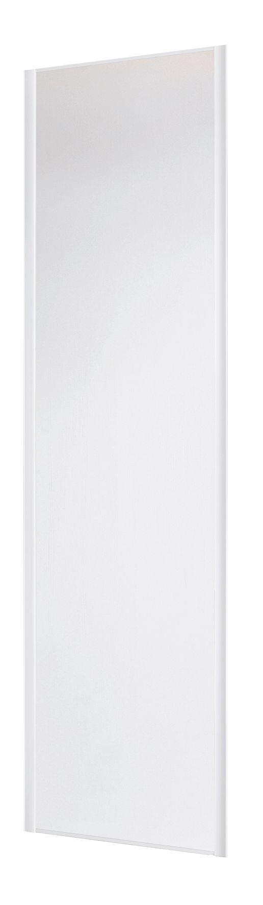 Valla White Sliding Wardrobe Door H2260 Mm W772mm Departments