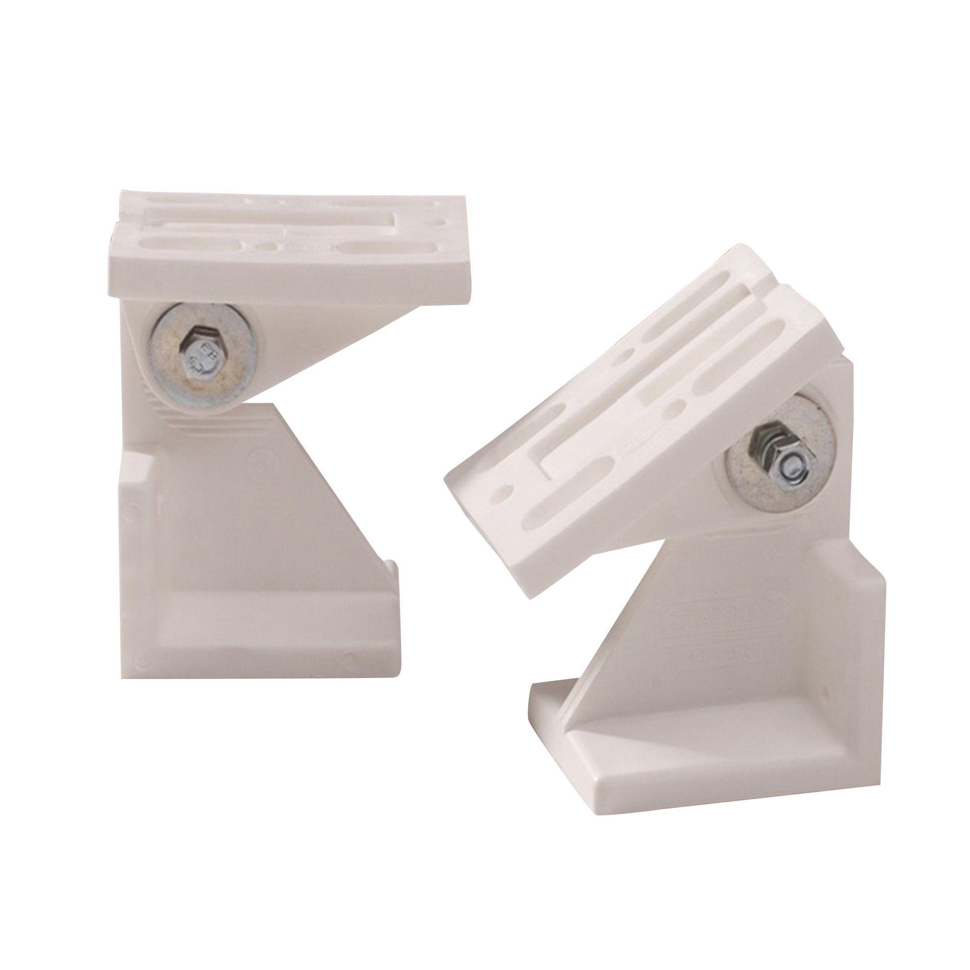 Form Plastic Angled Ceiling Bracket Departments Diy At B Q