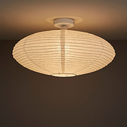 Papyrus White Ceiling Light