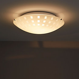 Dius White Ceiling Light