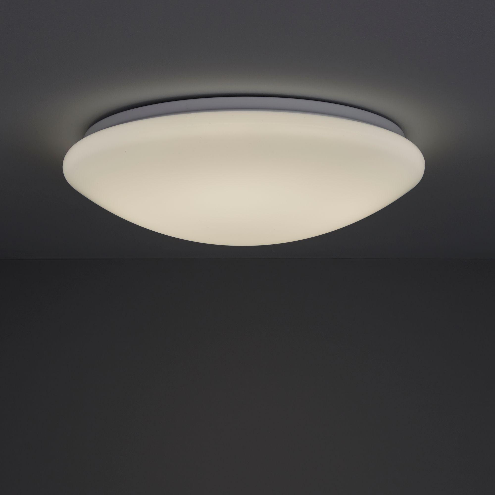 Dea Medium White Ceiling Light