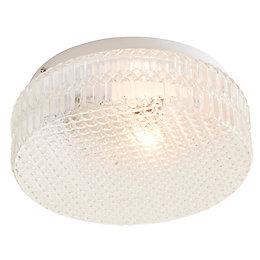 Oreste White Ceiling Light