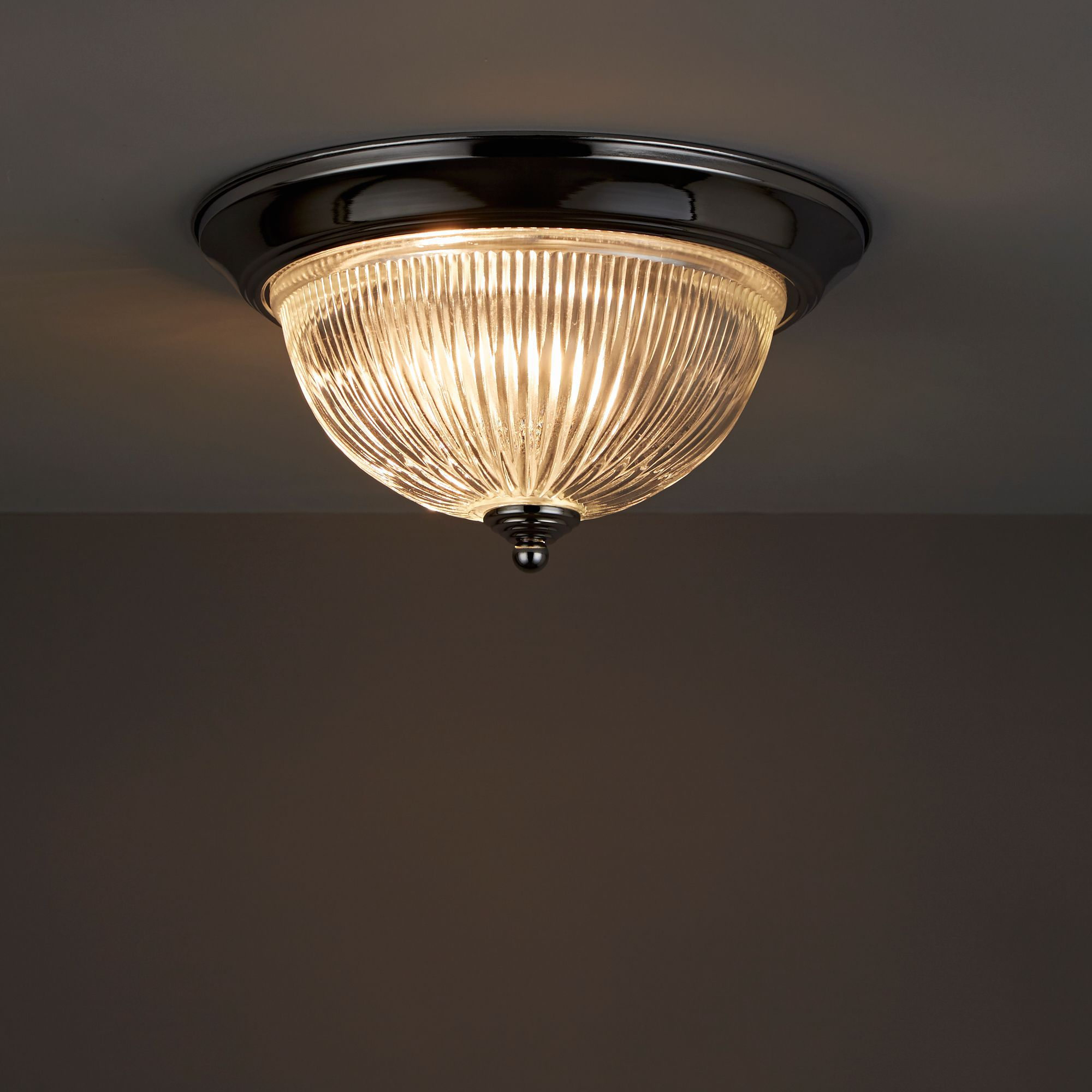 Doma Chrome Effect Ceiling Light