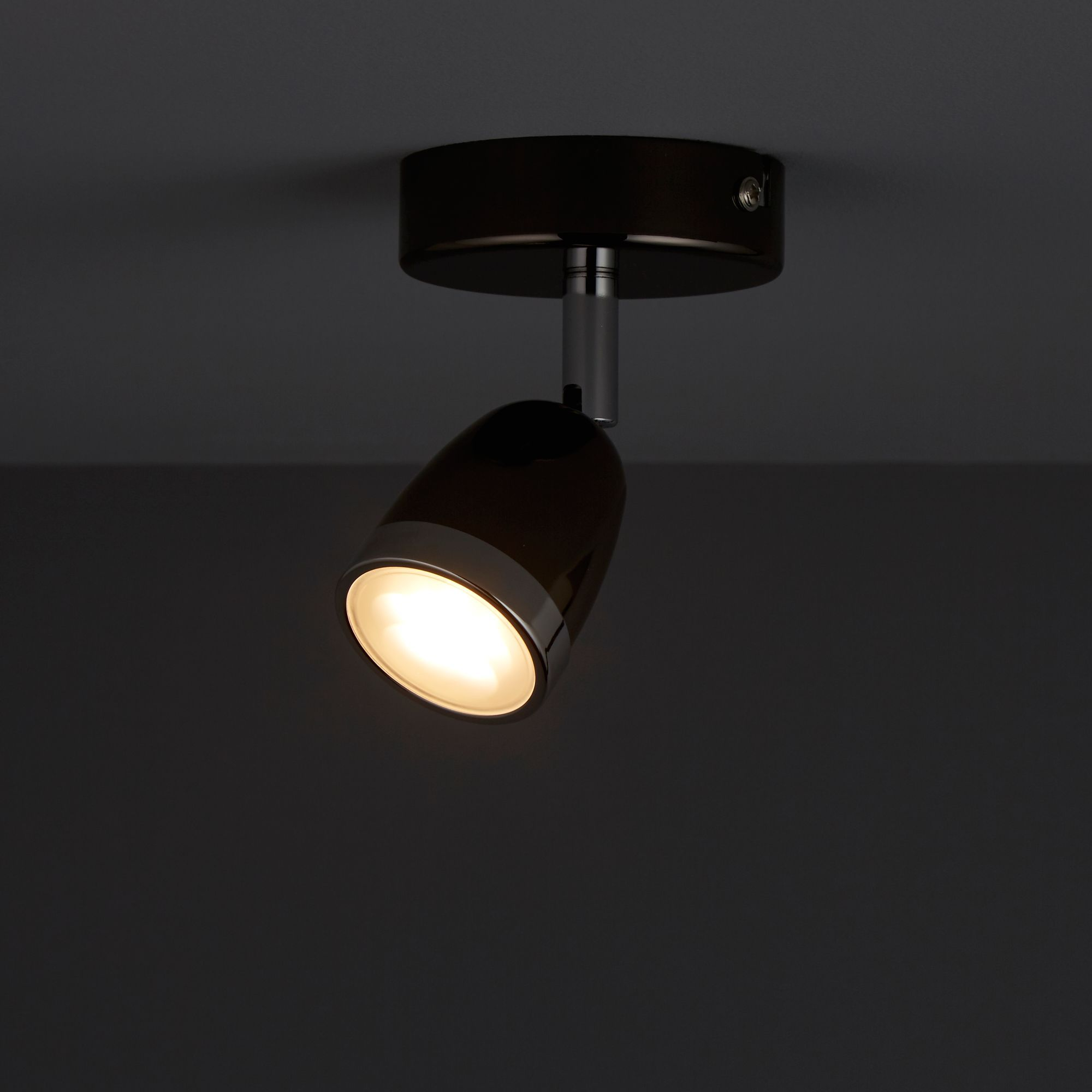 Apheliotes Black chrome effect Spotlight