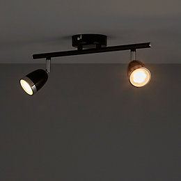 Apheliotes Black 2 Lamp Spotlight