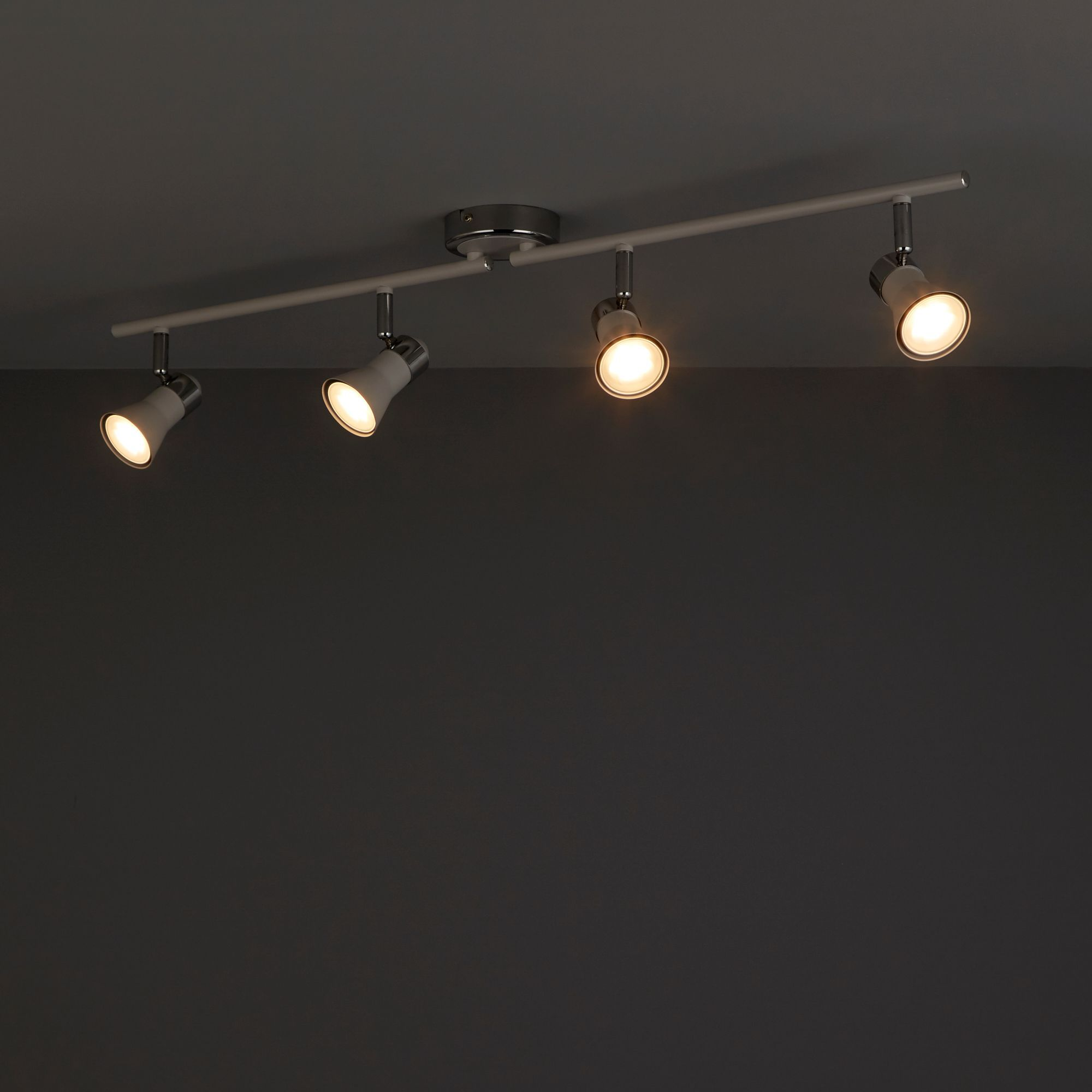 Aphroditus White 4 Lamp Spotlight