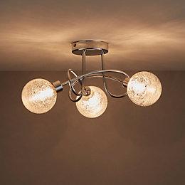 Onnes Chrome Effect 3 Lamp Spotlight