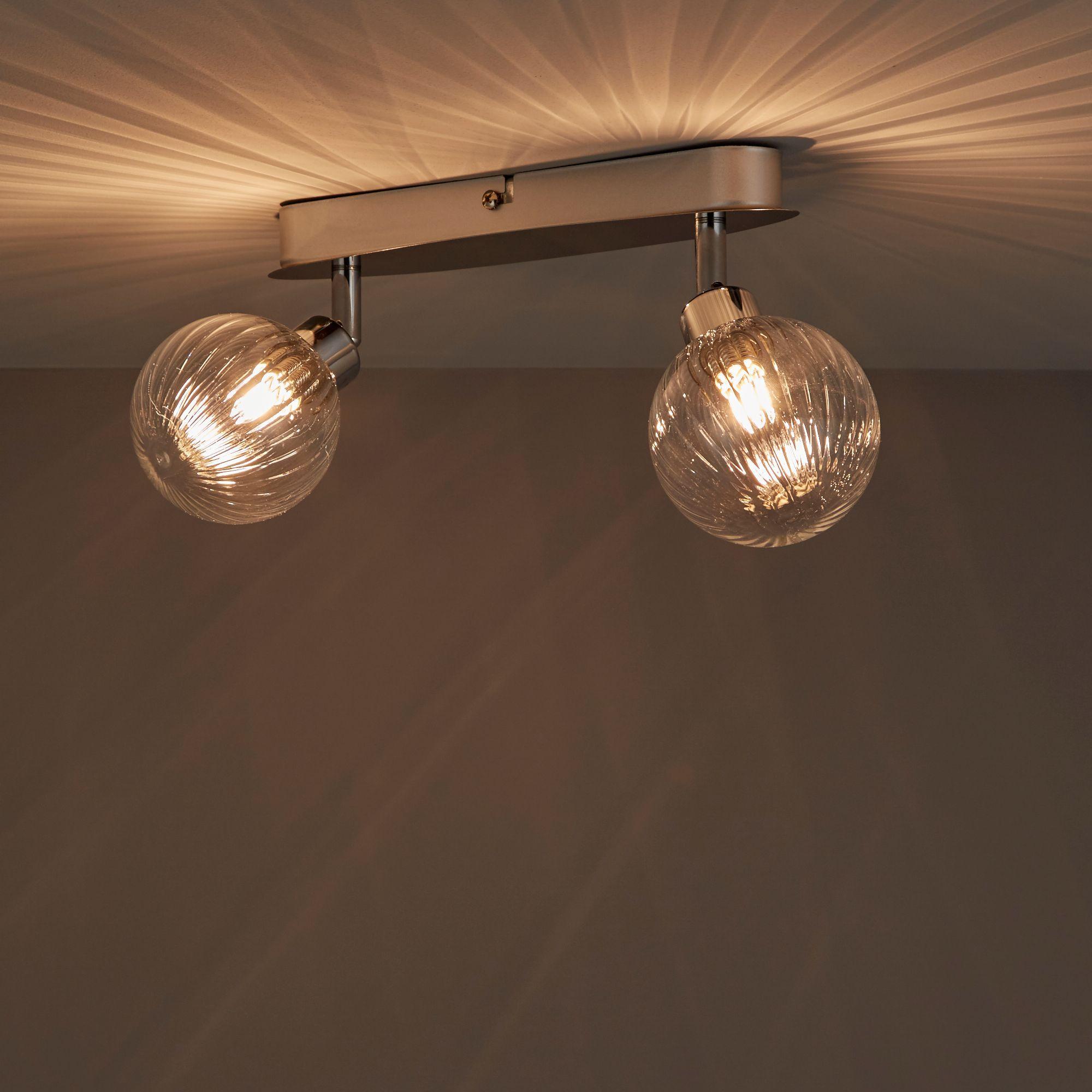 Eupraxia Chrome Effect 2 Lamp Spotlight
